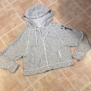 Victoria's Secret cropped hoodie size medium